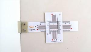 Fisurómetro recto 2 dimensiones